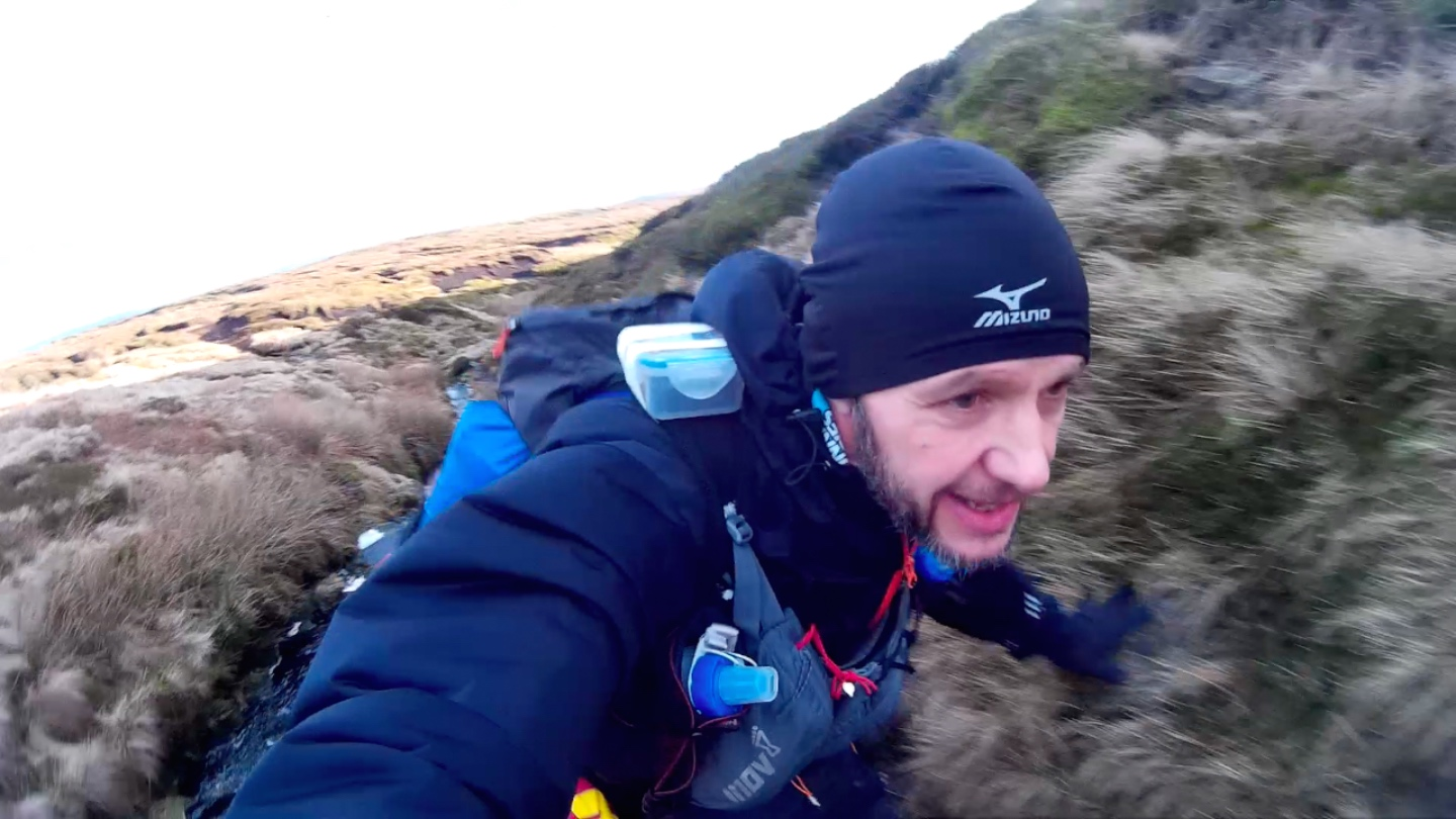 Spine Race Selfies